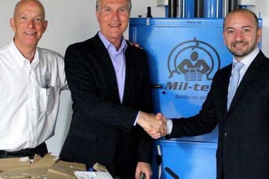 AX The Victoria Hotel - Miltek Recycling Equipment