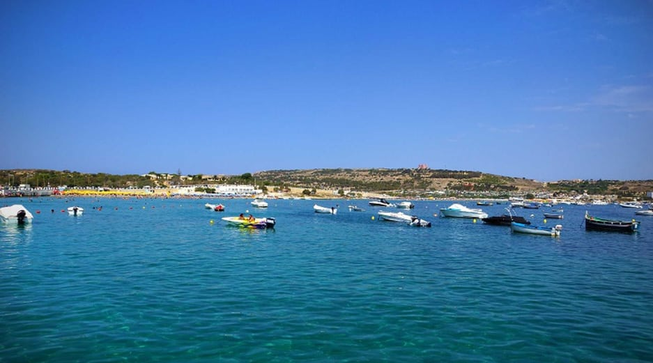Malta beaches - Ghadira Bay
