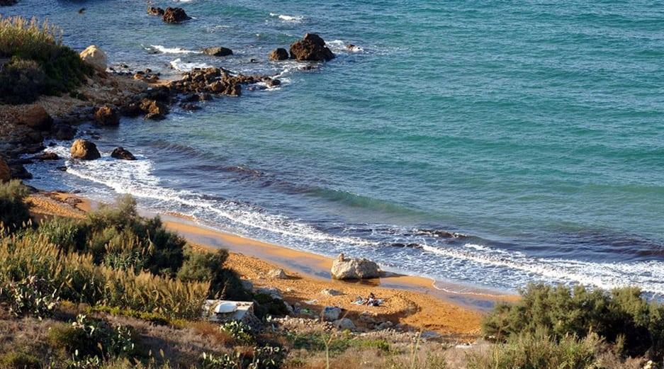 Malta beaches - San Blas Bay