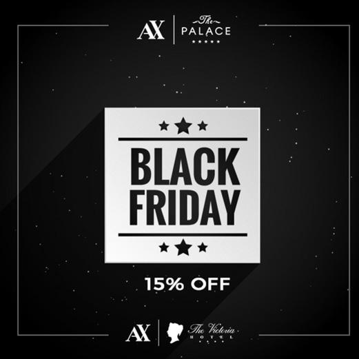 AX The Victoria Hotel - Black Friday