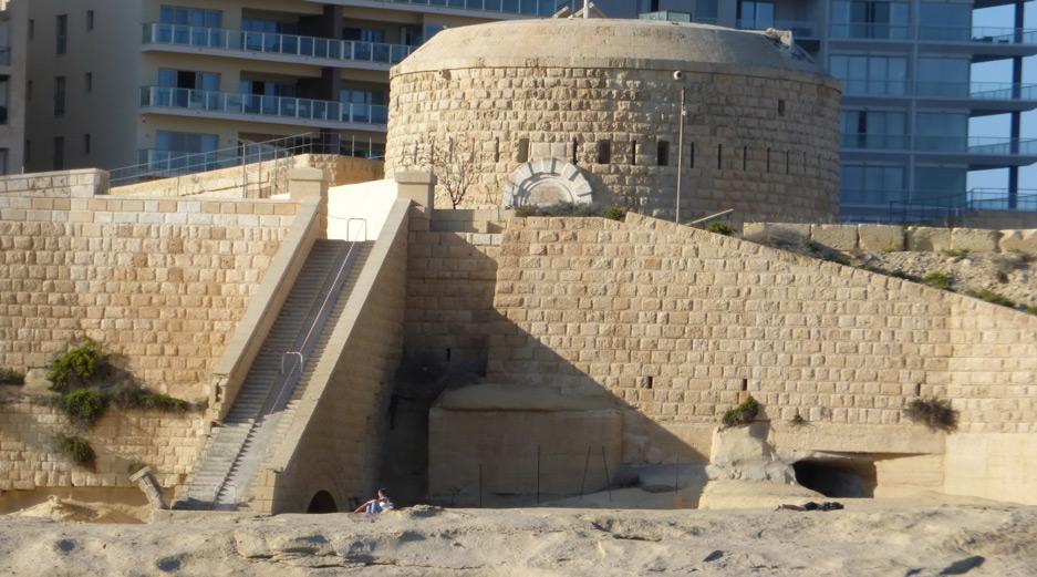 Fort Tigne - Sliema Malta History