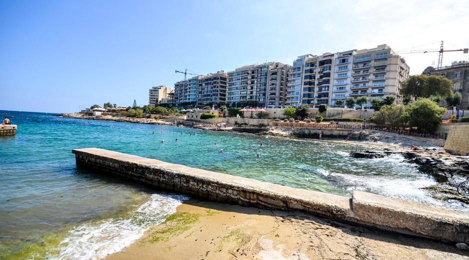 Sliema Beach - Exiles Bay